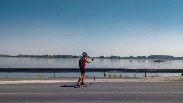 Meditačná rovinka popri Dunaji
